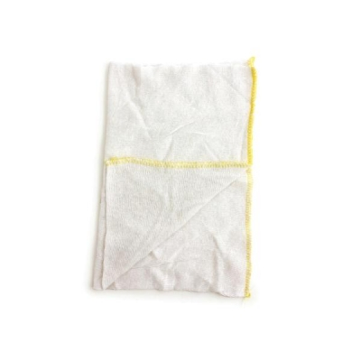 Dish Cloths Stockinette Yellow Ref SPC/CLOTH.04/Y [Pack 10]