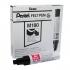 Pentel Jumbo Marker Black Ref M180/6-A [Pack 6]