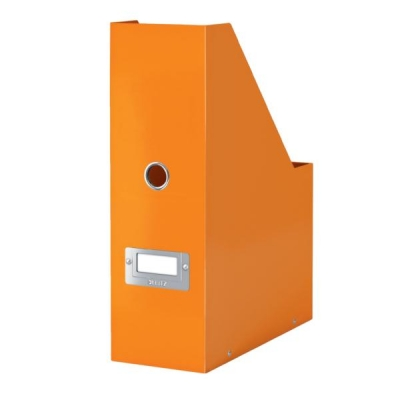 Leitz WOW Click and Store Magazine File Orange Ref 60470044