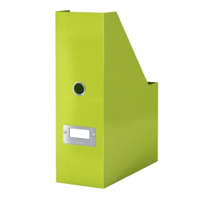 Leitz WOW Click and Store Magazine File Green Ref 60470064