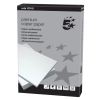 5 Star Copier Paper Smooth Ream-Wrapped 90gsm A4 High White [5 x 500 Sheets]