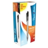 Paper Mate Inkjoy 100 Retractable Ballpoint Pen Medium 1.0mm Tip Black Ref S0957030 [Pack 20]