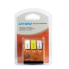 Dymo LetraTag Tape Plastic 12mmx4m Assorted Rolls Ref S071640 [Pack 3]