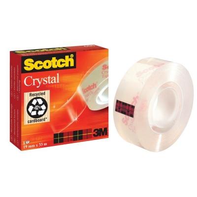 Scotch Crystal Tape 19mmx33m Ref 6001933