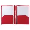 Rexel Advance Stay-Put Pocket and Prong Folder Polypropylene A4 Red Ref 2103754
