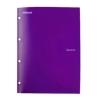 Rexel Advance Project File Plastic 2in1 4-Pocket A4 Purple Ref 2103759