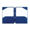 Rexel Advance Snap-In 2-Pocket Folder Polypropylene A4 Navy Ref 2103769