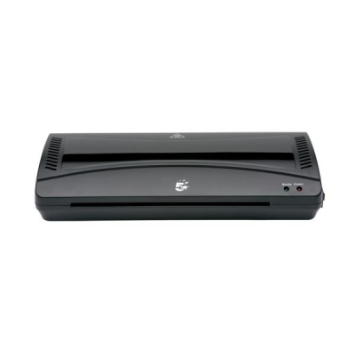 5 Star Hot and Cold Laminator up to 2x100micron Pouches A4