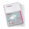 Rexel Nyrex Single Wallet with Vertical Inside Pocket A4 Clear Ref 12181 [Pack 25]