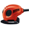 Black & Decker 4 in 1 Mouse Sander and 15 Accessories in Kitbag 230V Ref KA161BC-GB