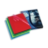 Rexel Cut Flush Folder Polypropylene Copy-secure Embossed Finish A4 Assorted Ref 12216AS [Pack 100]