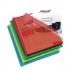Rexel Cut Flush Folder Polypropylene Copy-secure Embossed Finish A4 Assorted Ref 12216AS [Pack 100]
