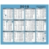 At-a-Glance 2016 Desk or Wall Calendar One Year to View Double-sided W254xH210mm Ref 930