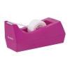 Scotch Magic Tape C38 Dispenser Complete With 1 Roll Tape Fuchsia Ref C38FUCHSIA