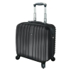 Juscha Trolley Case with Detachable Business Case Nylon with TSA Lock Black 45554