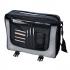 LightPak Wave Messenger Bag Polyester Black/Grey Ref 46069