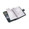 Collins Balmoral Desk Organiser 7 Ring Leather 2016 Diary Insert Refills 216x140mm Black Ref DK4699