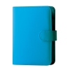 Collins Paris Pocket Organiser Padded Leather with 2017 Diary Insert For Refills 120x81mm Teal Ref KT2860