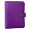 Collins Paris Personal Organiser Padded Leather 2016 Diary Insert Refills 172x96mm Purple Ref PR2855