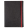Black By Black n Red Business Journal Book Soft Cover 90gsm Numbered Pages B5 Ref 400051204
