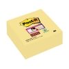 Post-it Super Sticky Note Cube Pad of 270 Sheets 76x76mm Yellow Ref 2028-SSCY-EU