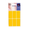Avery Labels 27x50mm Rectangular Fluo Orange Ref 32-222 [36 Labels]