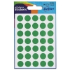 Avery Packets of Labels Diameter 13mm Green Ref 32-504 [Pack 245]