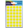 Avery Packets of Labels Diam.13mm Yellow Ref 32-509