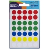 Avery Packets of Labels Diam.13mm Assorted Ref 32-512