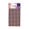 Avery Packets of Labels Diam.8mm Purple Ref 32-273 [1400 Labels]