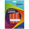 Avery Wallet of Labels 25x50mm Orange Ref 16-100 [324 Labels]