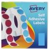 Avery Label Dispenser for 25x50mm Blue Ref 24-607 [400 Labels]