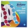 Avery Label Dispenser 13mm Diameter Blue Ref 24-609 [Roll 750]