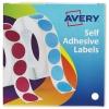 Avery Label Dispenser for Diam.13mm White Ref 24-610