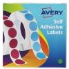Avery Label Dispenser 13mm Diameter Green Ref 24-611 [Roll 750]