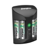 Energizer Pro Battery Charger for 4x A A/AAA Batteries Includes 4x AA 2000mAh Ref 639838
