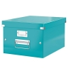 Leitz WOW Click and Store Box Medium A4 Ice Blue Ref 60440051