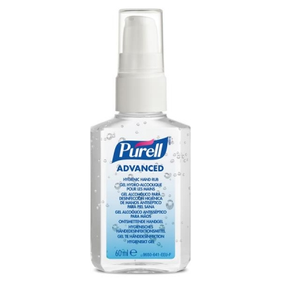 Purell Advanced Hygiene Hand Rub Personal Spray Pump 60ml Ref N06196