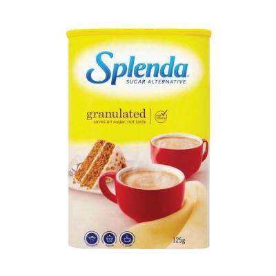 Splenda Granulated No Calorie Sweetener 125g Ref A07756