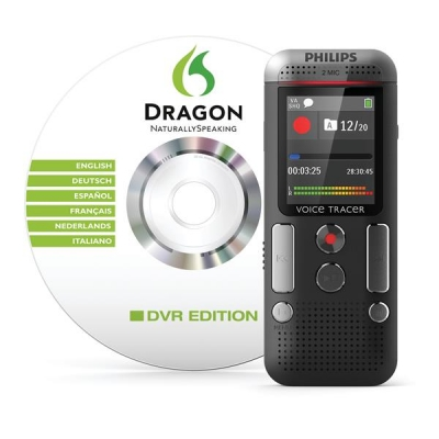Philips DVT 2700 Digital Recorder DNS Hands-free 4GB Colour Display Ref DVT2700/00