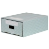 Bankers Box by Fellowes Mini Drawer Unit Stackable Recycled FSC A4 Green/White Ref 4481601 [Pack 2]