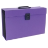 Rexel JOY Expanding Organiser File 19 Part Perfect Purple Ref 2104020