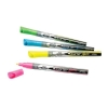 Rexel Neon Dry Wipe Markers Chisel Tip Assorted Ref 1903892 [Pack 4]