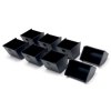 Safescan Coin Cups for SD-4617S Flip Top Metal Cash Drawer Ref 135-0478 [Pack 8]