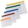 Snopake Zippa Bag S Classic A4 Assorted Ref 12796 [Pack 25]