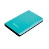 Verbatim Store n Go Portable Hard Drive For Mac and PC USB 3.0 500GB Green Ref 53171