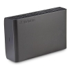 Verbatim Store n Go Portable Hard Drive For Mac and PC USB 3.0 3TB Black Ref 47673