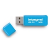Integral Neon Flash Drive USB 3.0 Blue 16GB Ref INFD16GBNEONB3.0