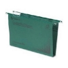 Rexel Crystalfile Classic Lateral File Manilla 330mm 30mm Base Green Ref 3000109 [Pack 25]