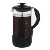 Addis Cafetiere Heat Resistant Glass 8 Cup Black Trim Ref 1235089700